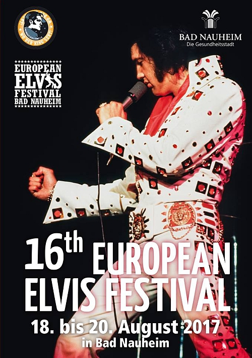 Flyer zum European Elvis Festival